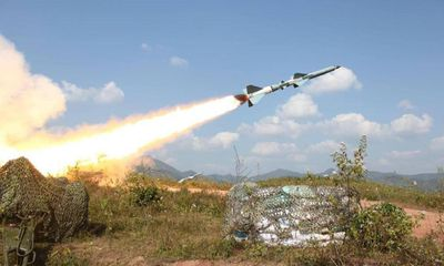 Tổ hợp S-75 Dvina 50 năm tuổi của Syria gây 'choáng' khi bắn hạ máy bay không người lái
