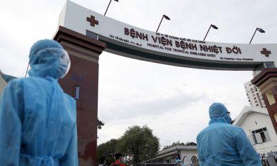 Bệnh viện Bệnh Nhiệt đới TP.HCM ghi nhận 60 nhân viên mắc COVID-19