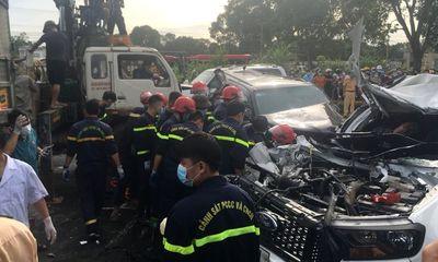 Tai nạn liên hoàn giữa 9 ô tô trên Quốc lộ 1A, một người tử vong