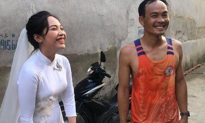Chú rể Thanh Hóa chạy bộ 19 km đi đón dâu khiến cộng đồng mạng xôn xao