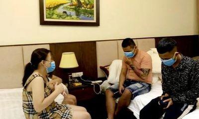 Pháp luật - Nghệ An: Bắt quả tang 4 thanh thiếu niên bay lắc trong khách sạn