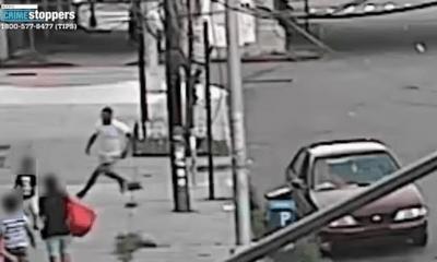Video: Bắt cóc trắng trợn ngay trên đường phố New York, cậu bé may mắn được mẹ cứu thoát