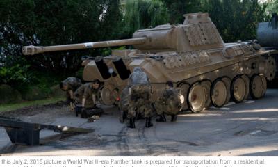 Cụ ông 84 tuổi bị phạt 300.000 USD vì đem giấu nguyên chiếc xe tăng trong nhà