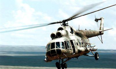 Máy bay trực thăng chở 16 khách du lịch rơi ở Nga