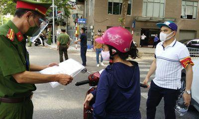 Hà Nội xử phạt hơn 1.500 trường hợp vi phạm phòng, chống dịch trong ngày 2/9