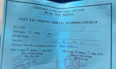 Vụ khoe tiêm vắc-xin nhờ xin ông anh: Đình chỉ công tác Phó Chủ tịch phường