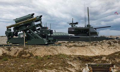 Robot chiến đấu Nga phô diễn khả năng khai hỏa 'siêu đỉnh' trong cuộc tập trận Zapad 2021