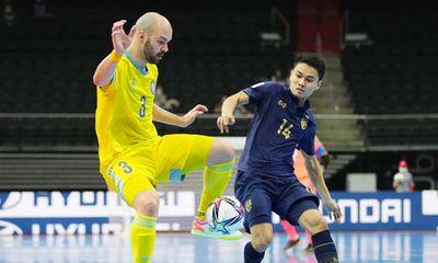 Thua đậm Kazakhstan, Thái Lan ngậm ngùi chia tay FIFA Futsal World Cup 2021