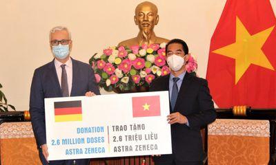 Đức hỗ trợ thêm 2,6 triệu liều vaccine phòng COVID-19 cho Việt Nam