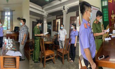 Khởi tố, bắt giam 5 cán bộ xã ở Nghệ An thông đồng làm giả hồ sơ đất