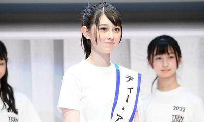 Miss Teen 14 tuổi gây náo loạn mạng xã hội vì nhan sắc đỉnh cao, được ví như 'mỹ nhân ngàn năm có một của Nhật Bản'