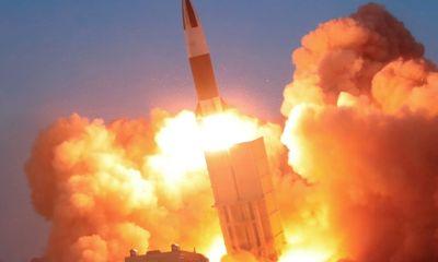 Hàn Quốc xác định Triều Tiên phóng tên lửa đạn đạo về phía Biển Nhật Bản