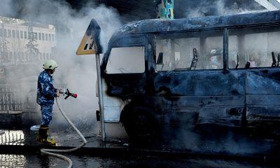 Đánh bom trúng xe trở quân nhân ở Damascus, ít nhất 14 người thiệt mạng