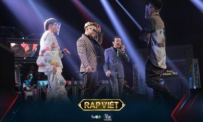 Rap Việt – Mùa 2 tiến thẳng Top 1 Trending sau hơn 12 tiếng công chiếu