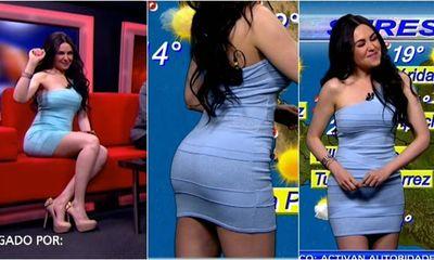Ngỡ ngàng trước phong cách ăn mặc hở bạo, siêu gợi cảm khi lên sóng truyền hình của các nữ MC thời tiết nước ngoài