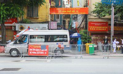 CDC Hà Nội: Thành phố có thể tiếp tục phải giãn cách thêm ít nhất 1 tuần sau ngày 6/9