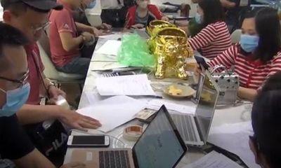 Triệt phá 4 sàn giao dịch vàng, tiền ảo quy mô siêu khủng tại Hà Nội