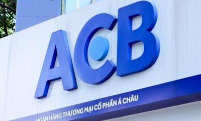 ACB được chấp thuận tăng vốn điều lệ lên hơn 27.000 tỷ đồng bằng việc phát hành cổ phiếu