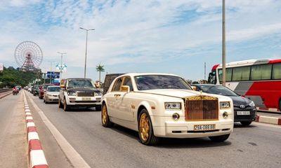 Choáng ngợp với dàn siêu xe mạ vàng, biển đẹp của đại gia kín tiếng đất Quảng Ninh