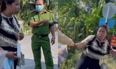 Từ TP.HCM về, người phụ nữ không đeo khẩu trang, không khai báo y tế