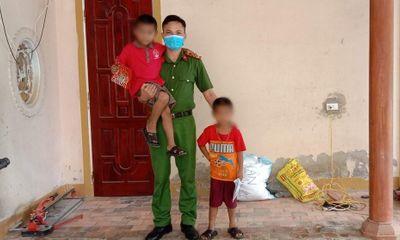 Hà Tĩnh: Giải cứu 2 cháu bé bị ông nội lên cơn tâm thần khống chế, nhốt trong nhà