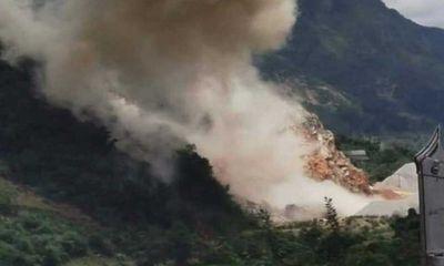 Lai Châu: Tiêu huỷ 700kg thuốc nổ hết hạn, hàng chục hộ dân chịu ảnh hưởng