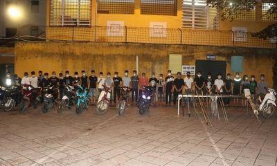 Vĩnh Phúc: Gần 50 thanh thiếu niên mang hung khí hỗn chiến giữa đêm