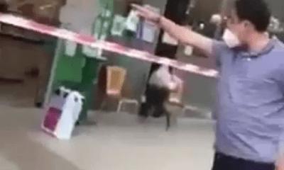 """TP.HCM: Người đàn ông xưng """"Ban Chỉ đạo quận 7"""" gây rối tại siêu thị"""