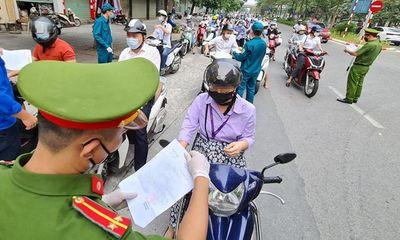 Tin tức thời sự mới nóng nhất hôm nay 4/9: Hà Nội lập 39 chốt kiểm soát ra, vào vùng đỏ từ 4/9