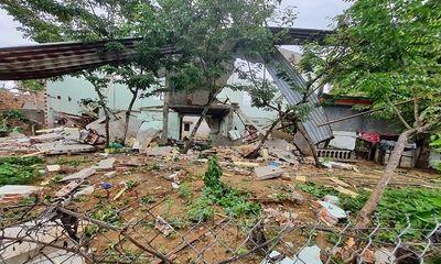Hiện trường vụ sập nhà khiến 2 vợ chồng tử vong: Phát hiện kíp điện, thuốc nổ