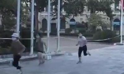 Hà Nội: Tập thể dục và dắt chó đi dạo quanh hồ Hoàn Kiếm, 4 phụ nữ bị phạt 8 triệu đồng