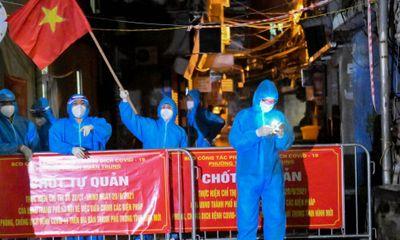 Hà Nội gỡ bỏ phong tỏa tại ổ dịch ngõ 328 và 330 đường Nguyễn Trãi