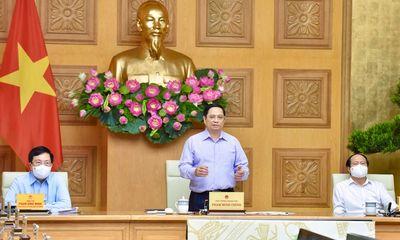 Thủ tướng phê bình nghiêm khắc những nơi có tỷ lệ giải ngân dưới 40%