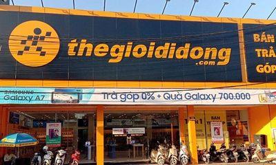 Thế giới Di động tự động giảm tiền thuê mặt bằng cửa hàng đóng cửa vì dịch COVID-19