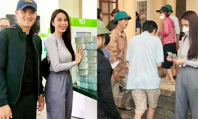 Một huyện ở Quảng Bình yêu cầu cung cấp chứng cứ hoạt động từ thiện của Thủy Tiên