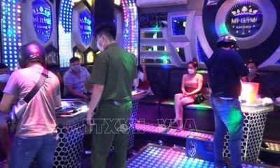Bà chủ quán karaoke Mỹ Quỳnh để 14 khách vào hát, hít ma túy trong mùa dịch