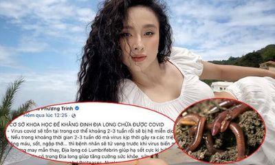 Đăng tin địa long chữa COVID-19, Angela Phương Trinh bị phạt 7,5 triệu đồng