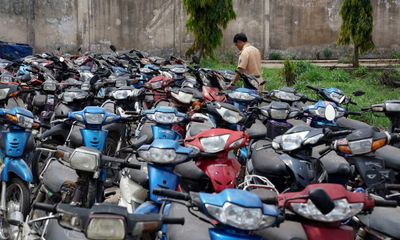 Công an phường Dịch Vọng thông báo tìm chủ phương tiện