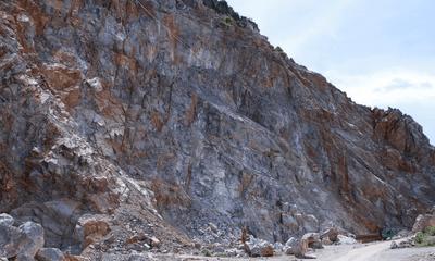 Thanh Hóa: Đình chỉ hoạt động khai thác của công ty TNHH MTV Tân Thành 9 tại núi Vức