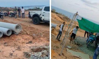 Bình Thuận: Giang hồ bảo kê lấn chiếm đất?