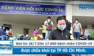 Gần 17.000 bệnh nhân mắc COVID-19 được chữa khỏi tại TP Hồ Chí Minh.
