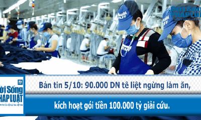 Kích hoạt gói tiền 100.000 tỷ giải cứu 90.000 doanh nghiệp