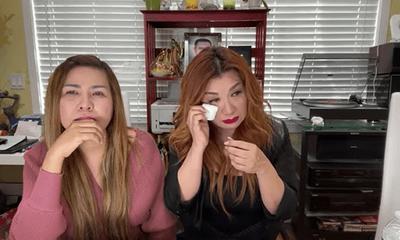 Vợ cũ Bằng Kiều bật khóc trên sóng livestream, lên tiếng về tranh cãi