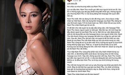 Tin tức giải trí mới nhất ngày 21/5: Nam Thư chính thức lên tiếng xin lỗi vụ PR tiền ảo