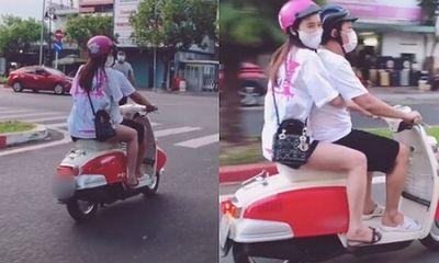 Tin tức giải trí mới nhất ngày 24/5: Nhã Phương cười rạng rỡ khi được Trường Giang lái xe máy đưa đi dạo
