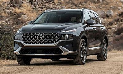 Bảng giá ô tô Huyndai mới nhất tháng 6/2021: Hyundai Santa Fe 2021 có mức giá từ 1,030 tỷ đồng