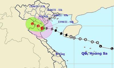 Bão số 2 giật cấp 10 gây mưa lớn, đổ bộ đất liền từ Thái Bình đến phía Bắc Nghệ An