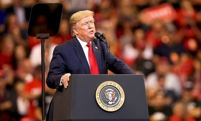 Cựu tổng thống Trump tổ chức cuộc vận động đầu tiên sau khi rời Nhà Trắng