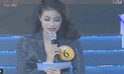 Phạm Hương lộ clip thi ứng xử 9 năm trước, dân mạng