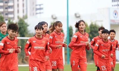 Đội tuyển nữ Việt Nam tập trung chuẩn bị cho vòng loại Asian Cup 2022
